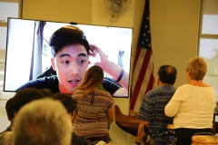 Ryan via Skype surprising Kanoe Ho with her Best Day Ever Award!